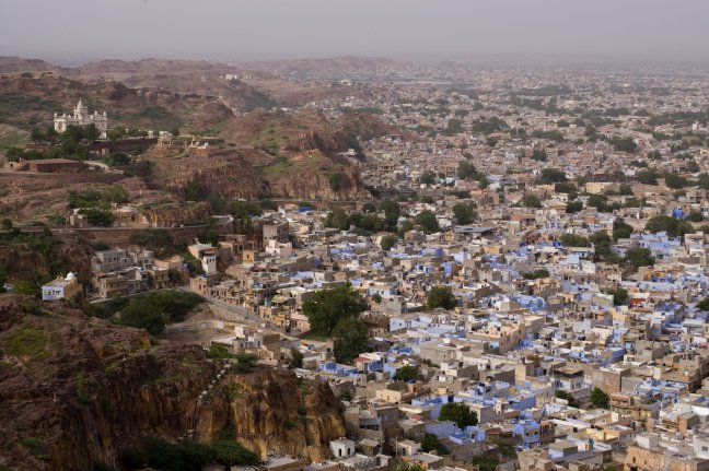Zicht op Johpur