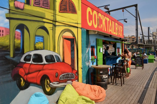 Strandbar In Scheveningen