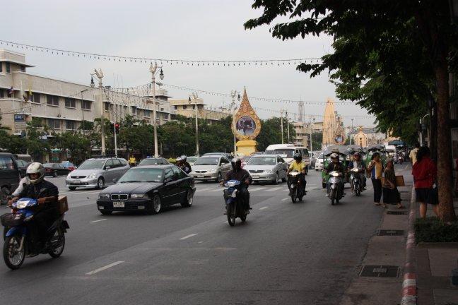 2008: Bangkok: verkeer