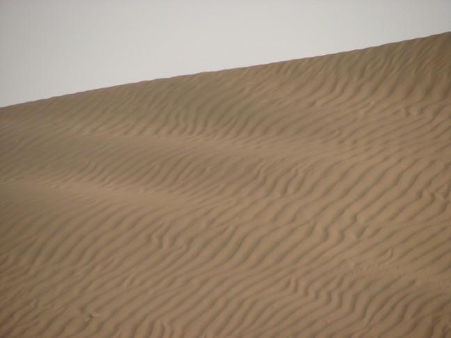 Zand golven.