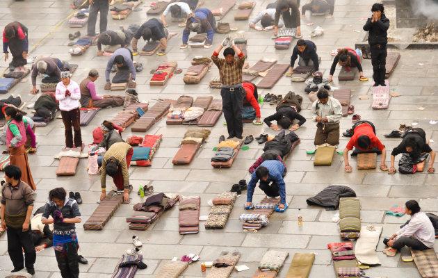 Spirituele devotie in Tibet