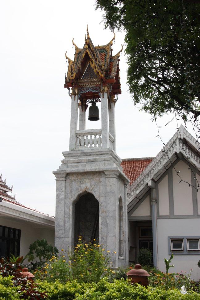 2008: Bangkok: Intharawihan (staande boeddha van 50 meter hoog)