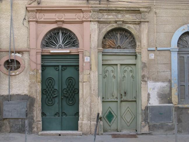 Italiaanse deuren in Tripoli