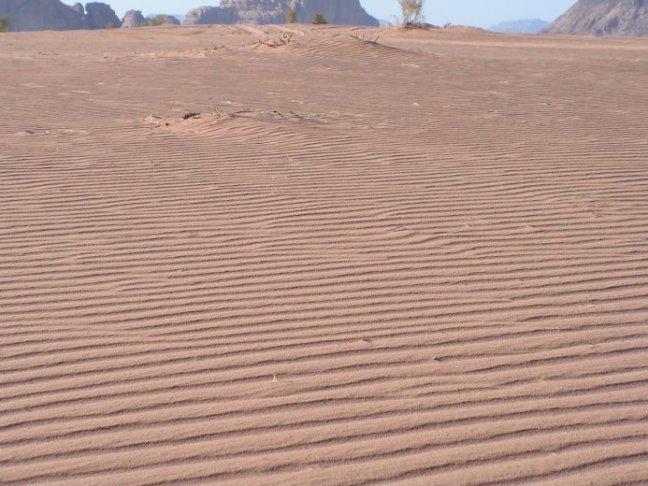geribbelde woestijn