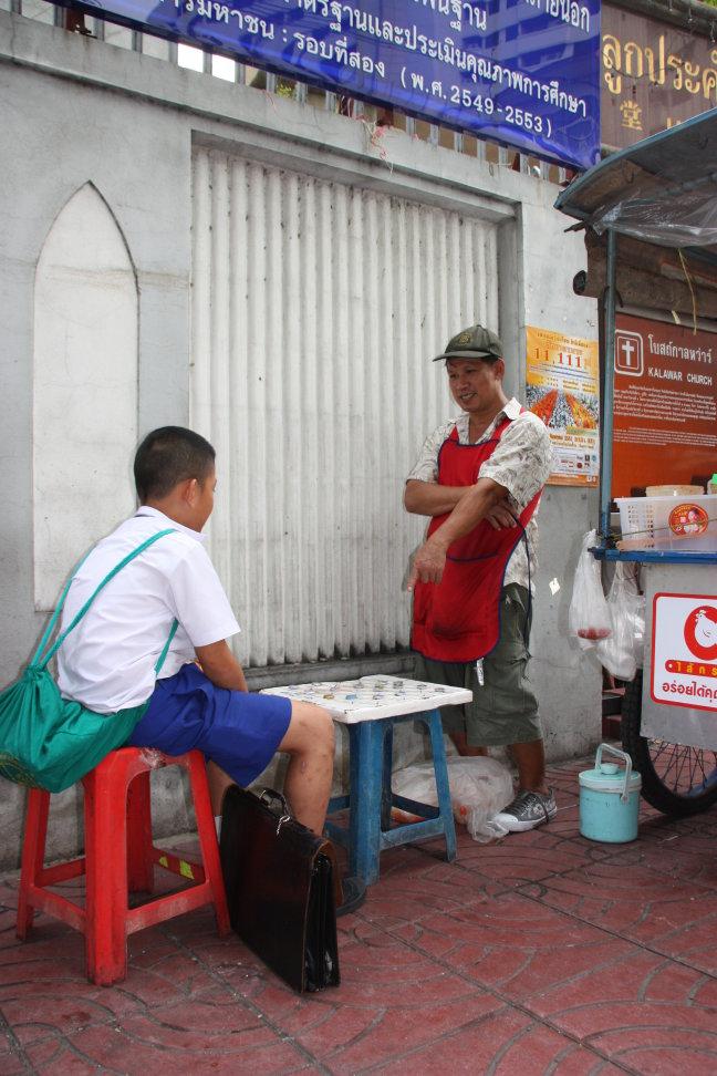 2008: Bangkok: vrijtijdsbesteding dammen