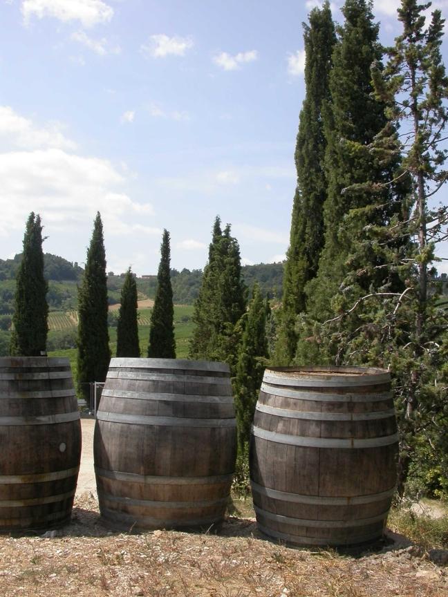 Bij de wijnboer voor een proeverij
