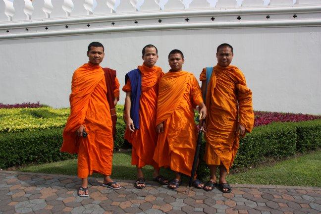 2008: Bangkok:  Grand Palace en vrienden uit Laos
