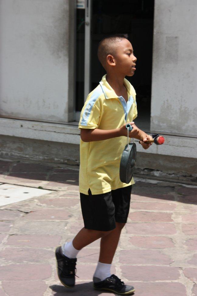 2008: Bangkok: Wat Po en muziekles