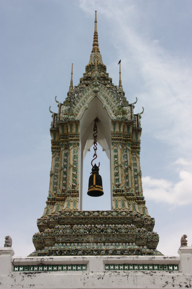2008: Bangkok: Wat Po en de 'bel'