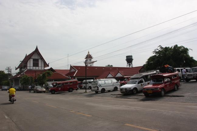 2008: Chiang Mai: stationnetje.