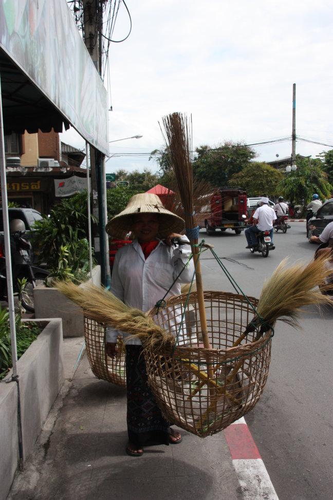 2008: Chiang Mai: stratenveegster.