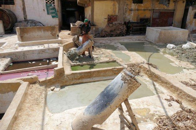leerlooierij in Meknes
