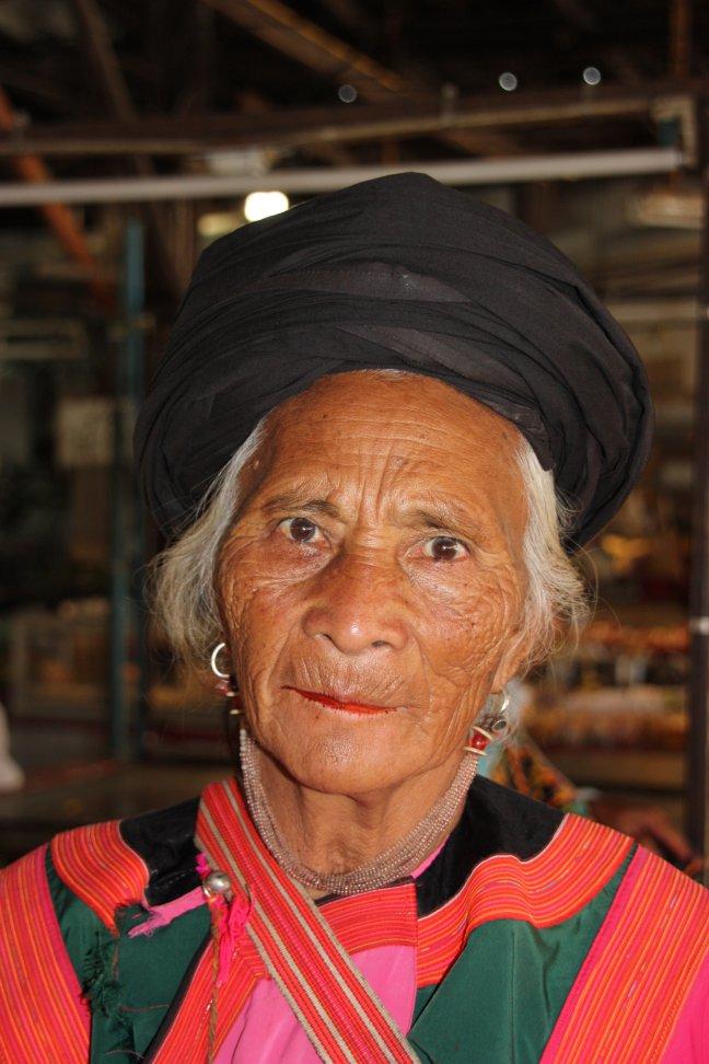2008: Mae Malai: bezoekster uit Laos.