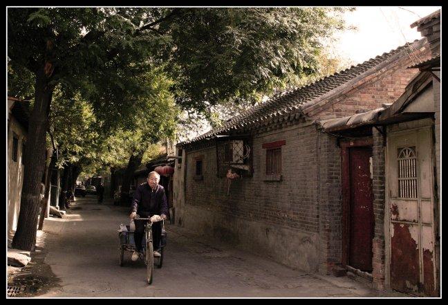 Cycling through Beijing