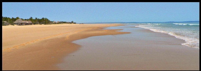 oneindig strand