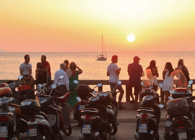 Siciliaanse zonsondergang