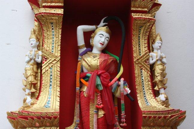2008: Chiang Mai: Wat Phrathat Doi Suthep: beeld