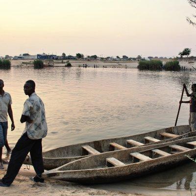 Voorvertoning Grensoversteek naar Angola