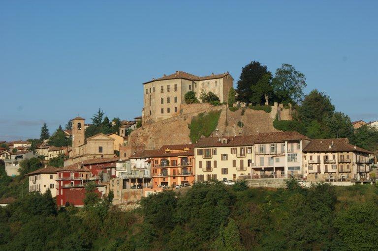 Uitzicht op Castellinaldo