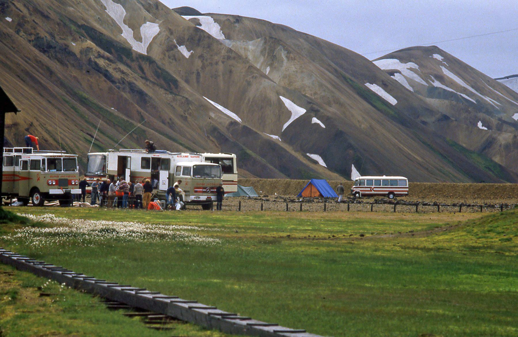 Kamperen in Landmannalaugar