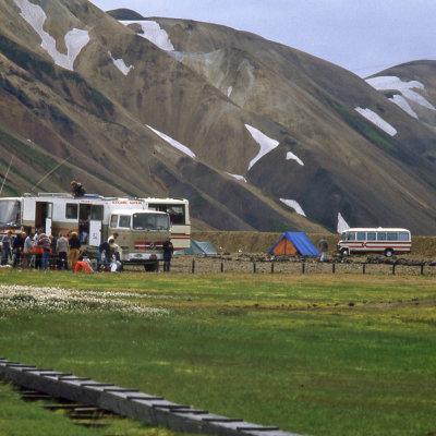 Voorvertoning Kamperen in Landmannalaugar