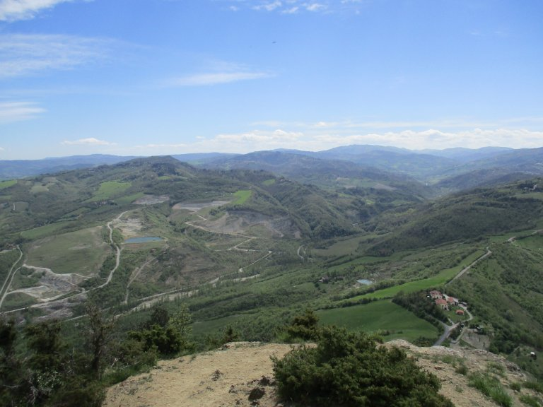 De eerste blik op Florence: na 120 kilometer is de finish in zicht