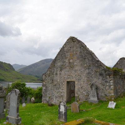 Voorvertoning Kerkhof met ruïne