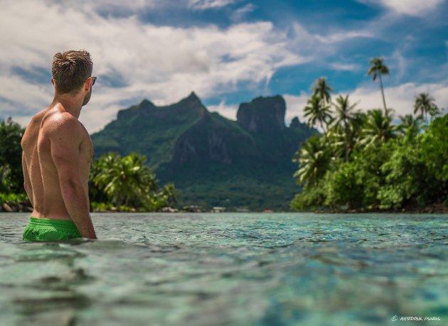 Bora Bora in zicht