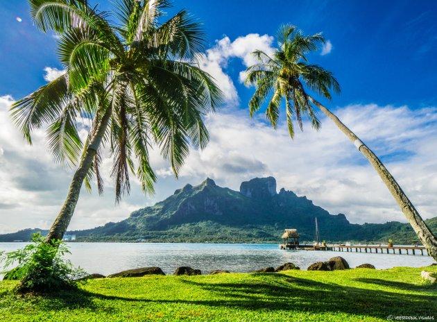 Bora Bora vanuit een alternatieve hoek
