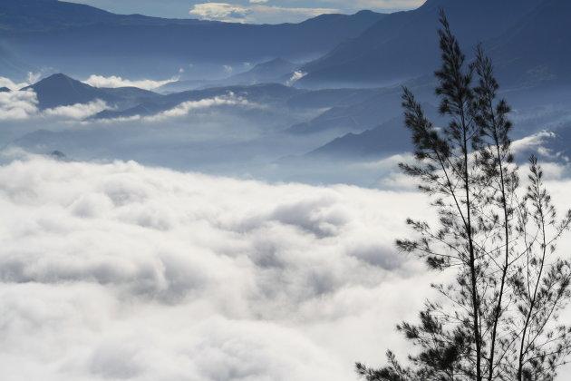 Met je hoofd in de wolken, Kenscoff, Haiti