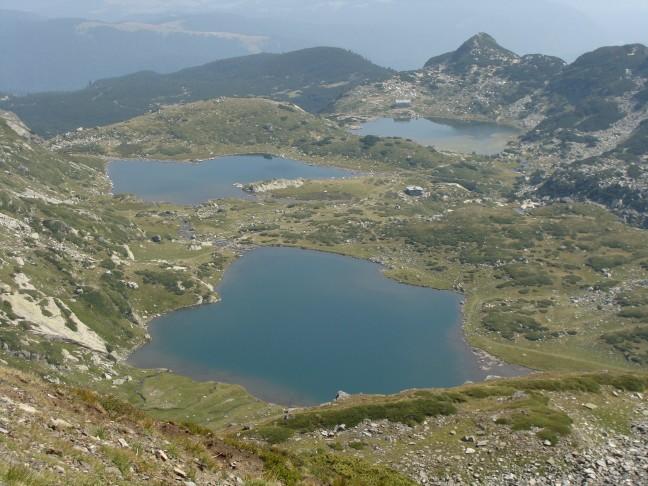 De 7 meren in het Rila gebergte