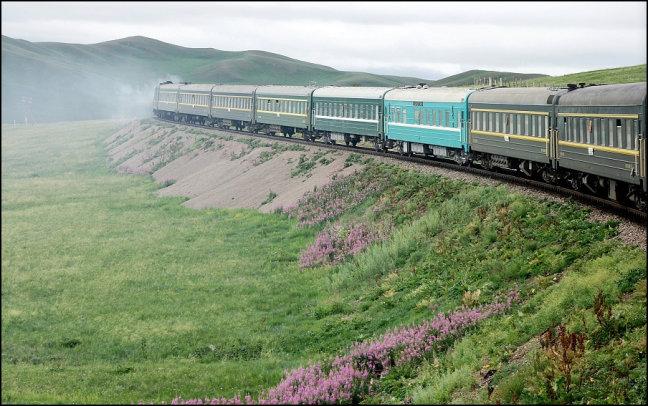 de Trans Mongolië Express