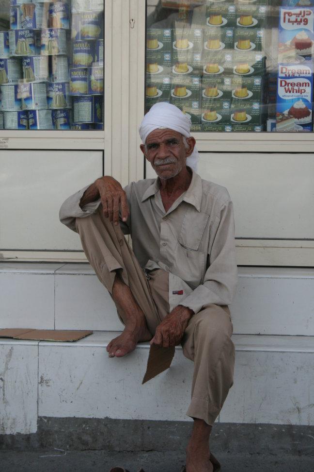 oude Bahreinse man