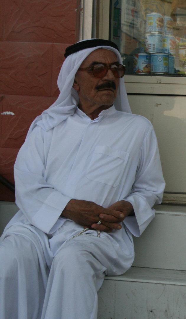 Witte jurk in Bahrein