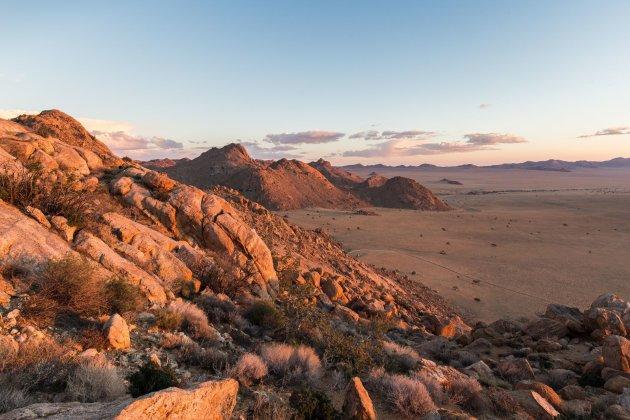 Zonsondergang nabij Klein Aus Vista