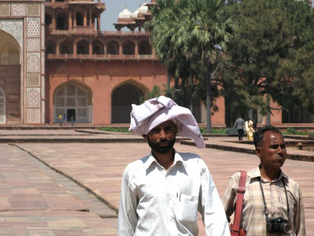 local tourists