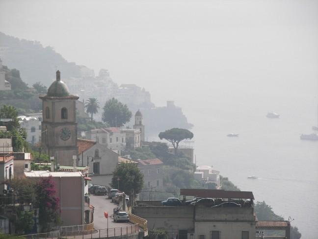 Kust bij Amalfi