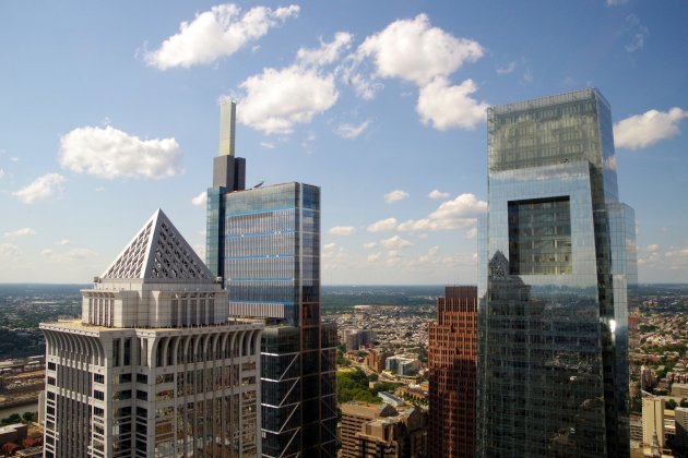 Philly vanuit One Liberty