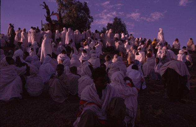 ethiopische kerkdienst