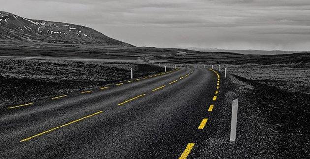 Wegen van IJsland