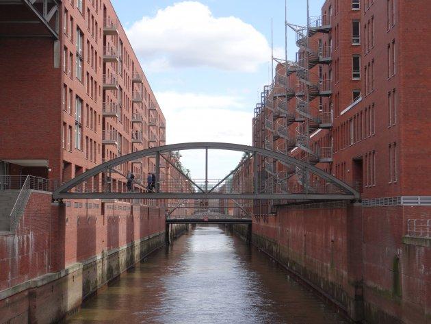 Relaxt wandelen in Hamburgs Speicherstadt