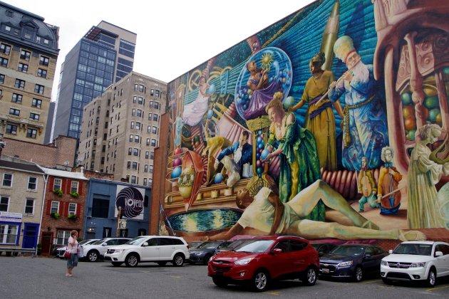 Mural city Philadelphia