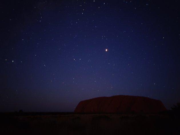 Uluru by night