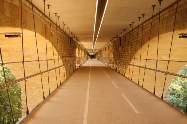 Loopbrug-brug