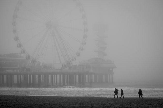 Mist in Scheveningen