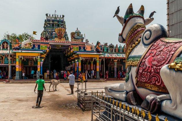 Kleurrijke hindoeïstische tempel