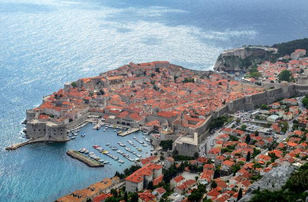 Dubrovnik van boven