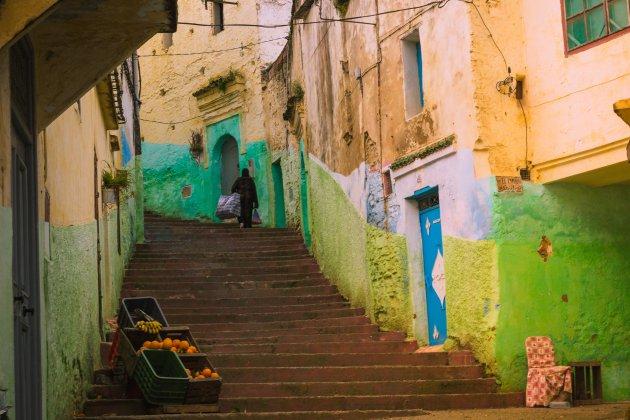 De straatjes van Ouezzane
