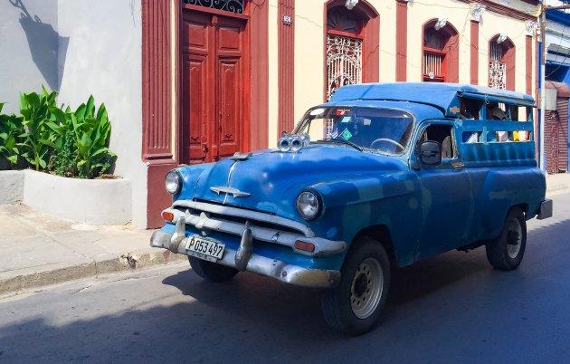 Taxi in Santiago de Cuba