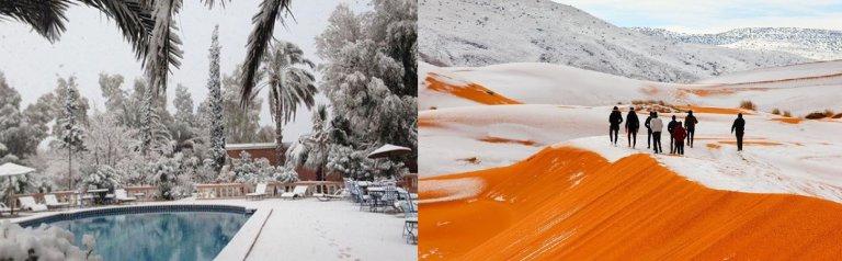 Hoofdfoto bij reisverhaal 'Sneeuw in de Sahara'